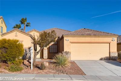 North Las Vegas Single Family Home For Sale: 6632 Donna Street