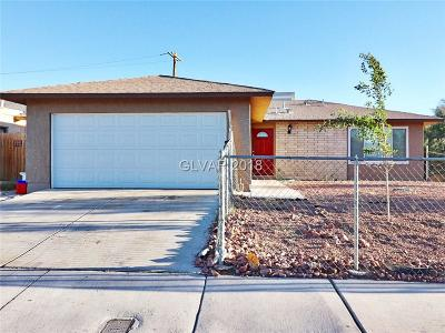 Las Vegas Single Family Home For Sale: 4412 Ash Avenue