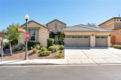 Las Vegas, North Las Vegas, Henderson Single Family Home For Sale: 10307 Glacier Mist Avenue