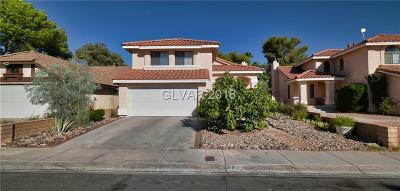Las Vegas Single Family Home For Sale: 3020 Waterview Drive