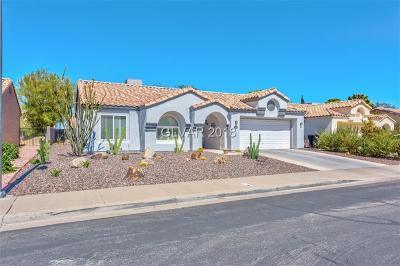 Henderson NV Single Family Home For Sale: $290,000
