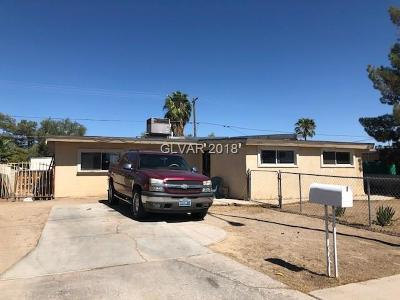 North Las Vegas Single Family Home For Sale: 2616 Reynolds Avenue