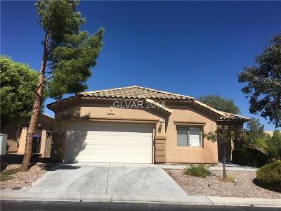 Las Vegas Single Family Home For Sale: 118 Chatara Way