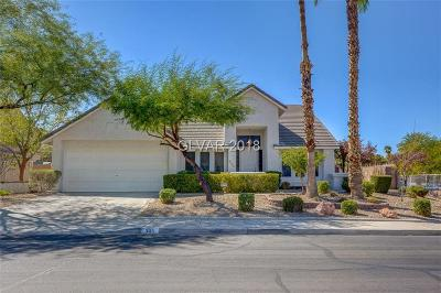 Henderson Single Family Home For Sale: 305 Redondo Street
