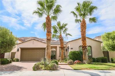 Red Rock Cntry Club At Summerl Single Family Home For Sale: 2445 Grassy Spring Place