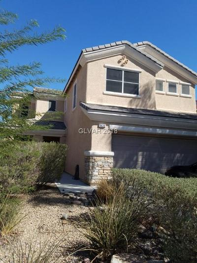 North Las Vegas Single Family Home For Sale: 5636 River Bird Street