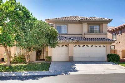 Las Vegas Single Family Home For Sale: 4619 El Camino Cabos Drive