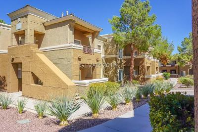 Las Vegas Condo/Townhouse For Sale: 8070 West Russell Road #2097