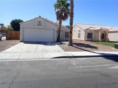 North Las Vegas Single Family Home For Sale: 1513 Watercreek Drive