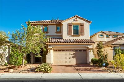 Las Vegas Single Family Home For Sale: 11087 Evvie Lane