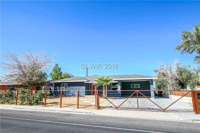 Las Vegas Single Family Home For Sale: 811 Oakey Boulevard