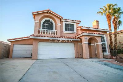 Las Vegas Single Family Home For Sale: 1424 Silver Falls Avenue
