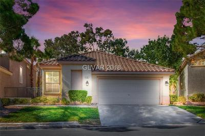 Las Vegas Single Family Home For Sale: 1312 Elk River Circle