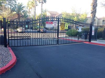LAS VEGAS Condo/Townhouse For Sale: 2300 Silverado Ranch Boulevard #2101