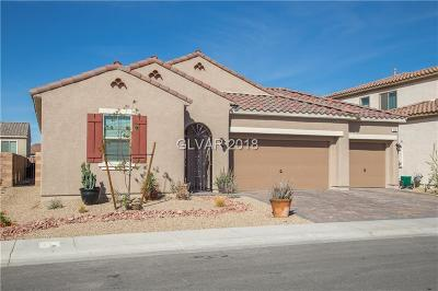 Henderson Single Family Home For Sale: 420 Via San Remo Circle