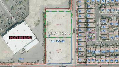 North Las Vegas Residential Lots & Land For Sale: Donna Street