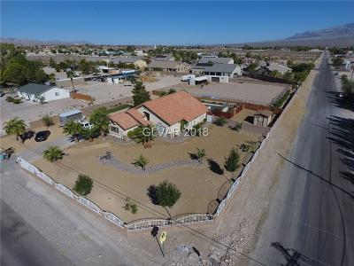 Las Vegas Single Family Home For Sale: 8620 Brent Lane