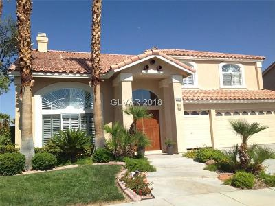 Las Vegas  Single Family Home For Sale: 3618 Calico Brook Court