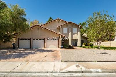 Single Family Home For Sale: 3355 Heavenly View Court