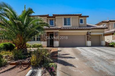 North Las Vegas Single Family Home For Sale: 5933 Grey Goose Street