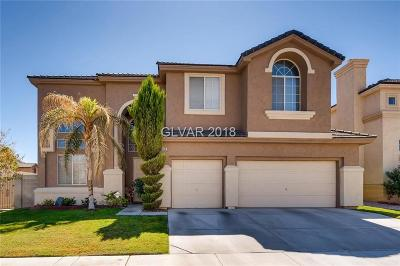 Clark County Single Family Home Under Contract - No Show: 6813 Bottle Sage Avenue