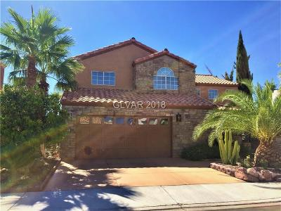 Las Vegas NV Single Family Home For Sale: $735,000