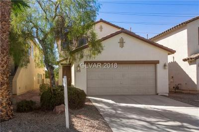 North Las Vegas NV Single Family Home For Sale: $233,800
