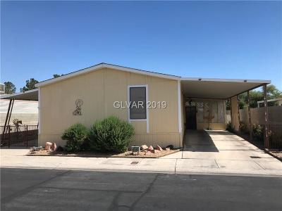 Las Vegas Single Family Home For Sale: 3132 Gavilan Lane
