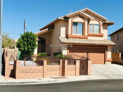 North Las Vegas NV Single Family Home For Sale: $258,000