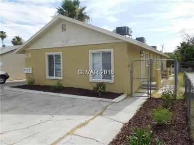 Henderson, Las Vegas Multi Family Home For Sale: 426 North 15th Street