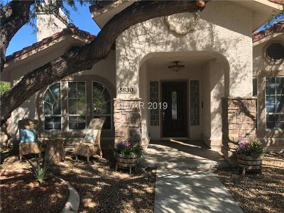 Las Vegas  Single Family Home For Sale: 5830 North Bonita Vista Street