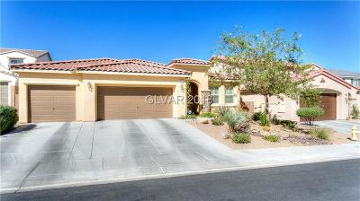 Las Vegas, North Las Vegas, Henderson Single Family Home For Sale: 829 Tofino Court