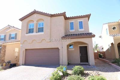 Las Vegas Single Family Home For Sale: 315 Woodland Moss Road