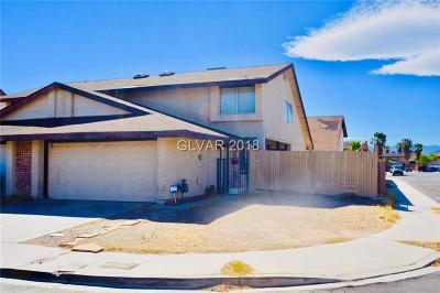 Las Vegas NV Condo/Townhouse For Sale: $189,900