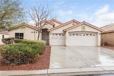 North Las Vegas Single Family Home For Sale: 3909 Ricebird Way