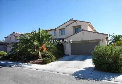 North Las Vegas Single Family Home For Sale: 6026 Valley Flower Street