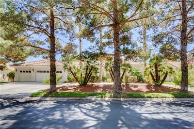 Clark County Single Family Home For Sale: 3879 Placita Del Rico