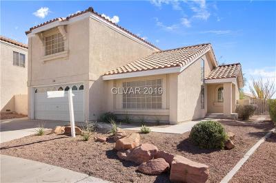 Las Vegas Single Family Home For Sale: 2728 Purtell Circle