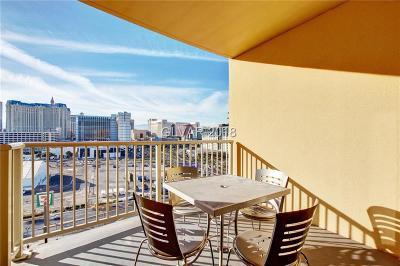 Platinum Resort Condo High Rise For Sale: 211 East Flamingo Road #1017