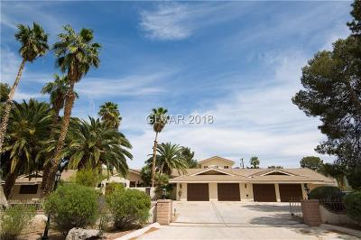 Clark County Single Family Home For Sale: 7172 La Puebla Street