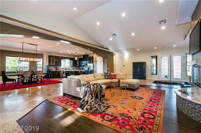 Las Vegas Single Family Home For Sale: 3777 Gershon Court