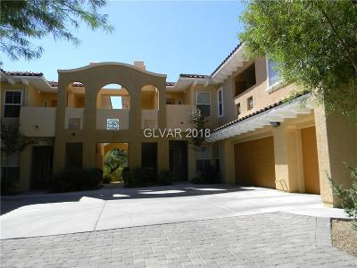 Las Vegas Condo/Townhouse For Sale: 11835 Portina Drive #2024