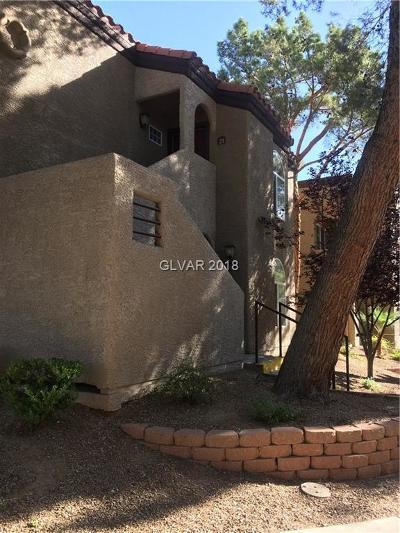 Condo/Townhouse For Sale: 9325 Desert Inn Road #218