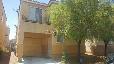 Las Vegas Single Family Home Under Contract - Show: 4059 Morning Peace Street