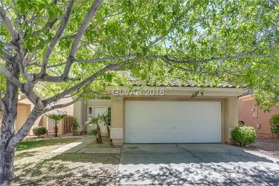 Las Vegas NV Single Family Home Under Contract - No Show: $319,000