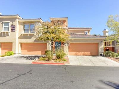 Las Vegas Condo/Townhouse For Sale: 10700 Amber Ridge Drive #104