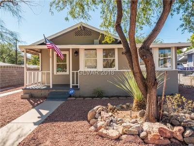 Boulder City Single Family Home For Sale: 628 California Avenue