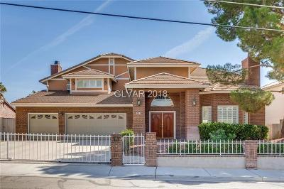 Single Family Home For Sale: 3930 Mojave Road