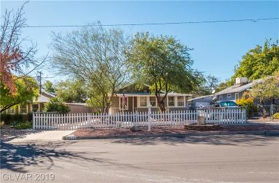 Boulder City Multi Family Home For Sale: 628 California Avenue