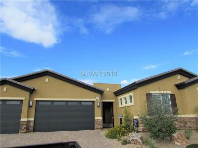 Clark County Single Family Home Under Contract - No Show: 6995 Meranto Avenue #Lot 22